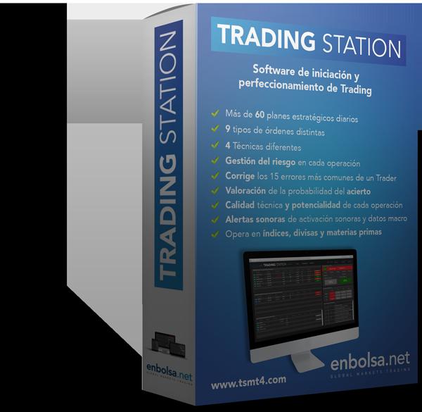 Packaging del programa de iniciación y perfeccionamiento de Trading, Trading Station